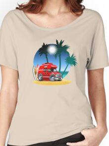 Cartoon Camper Women's Relaxed Fit T-Shirt