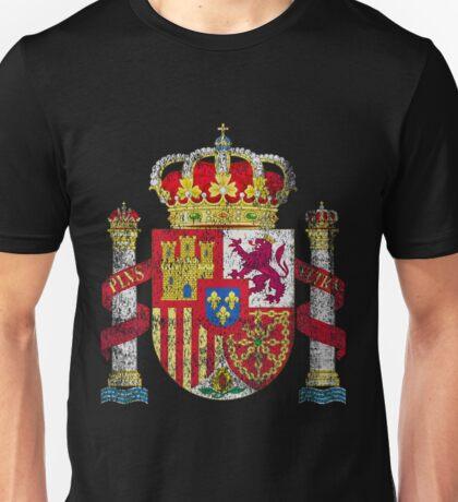 Spanish Coat of Arms Spain Symbol Unisex T-Shirt