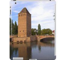 Covered Bridge in Strasbourg, France iPad Case/Skin