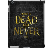 What Is Dead May Never Die: Ironborn iPad Case/Skin