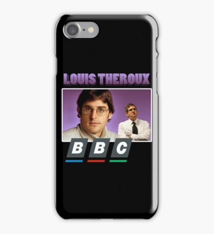 Louis Theroux 90s Tee iPhone Case/Skin