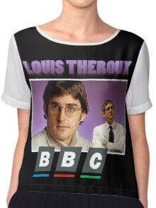 Louis Theroux 90s Tee Chiffon Top