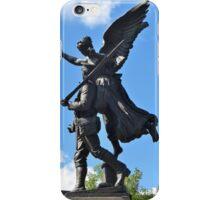 Angel on My Shoulder iPhone Case/Skin