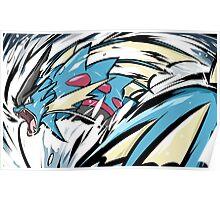 Mega Gyarados | Aqua Tail Poster