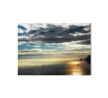 Reflections of Sunrise Scenery Art Board
