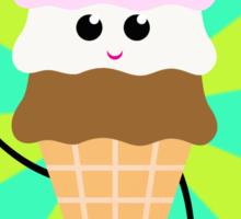 Ice Cream Pop Art Sticker