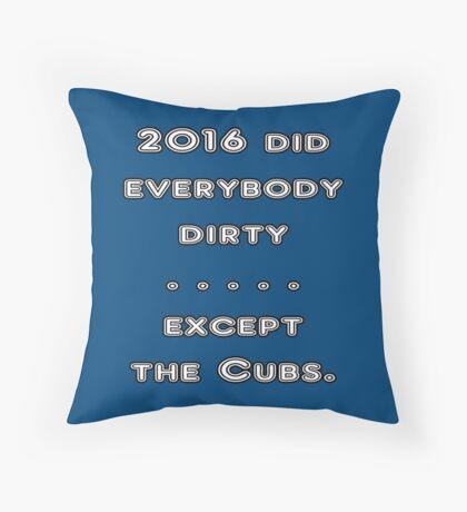 Cubbies Throw Pillow