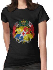 Tongan Coat of Arms Tonga Symbol Womens Fitted T-Shirt