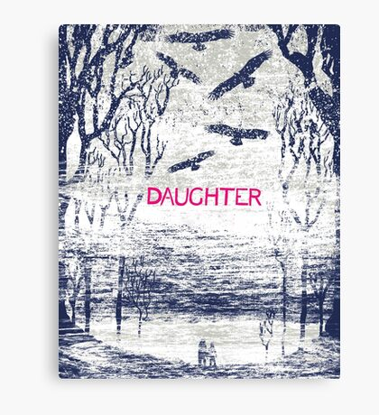 Daughter Band Poster Canvas Print