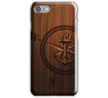 Wooden Anchor iPhone Case/Skin