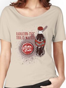 Nuka Cola Fallout Series Women's Relaxed Fit T-Shirt
