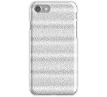 every Twenty One Pilots song/lyric off Self Titled iPhone Case/Skin