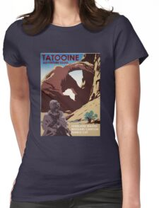 Tatooine Adventure Tours Womens Fitted T-Shirt