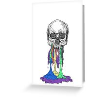 twenty one pilots skeleton goop  Greeting Card