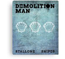 Demo Lition Man Canvas Print