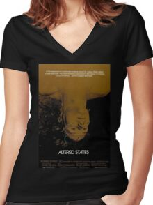 Altered States Women's Fitted V-Neck T-Shirt