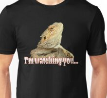 Bearded dragon watching you Unisex T-Shirt