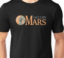 Occupy Mars Outer Space Planet Solar System Unisex T-Shirt