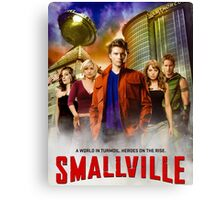 Smallville TV Series Canvas Print