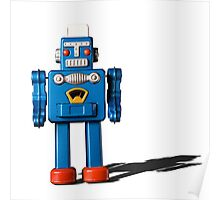 Azure robot Poster