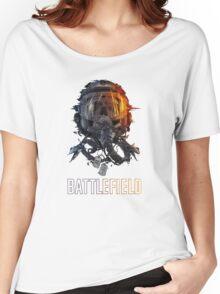 battlefield face Women's Relaxed Fit T-Shirt