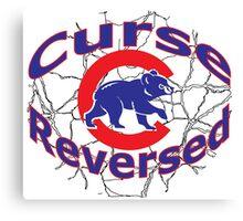 Cubs Curse shirt Canvas Print