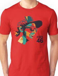 rossi face Unisex T-Shirt