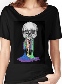 twenty one pilots skeleton goop black Women's Relaxed Fit T-Shirt