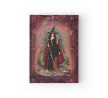 Moon Witch and Dragon ~ Fire Hardcover Journal