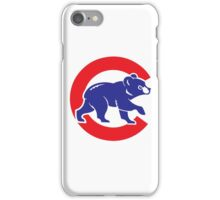 Cubs logo iPhone Case/Skin