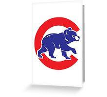 Cubs logo Greeting Card