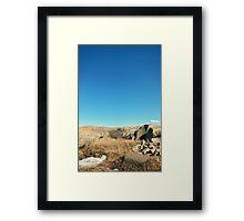 Raw Nature Framed Print