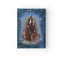 Moon Witch and Dragon ~ Water Hardcover Journal