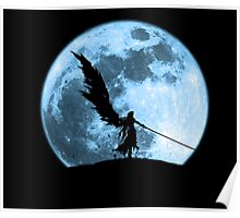 One winged angel in the night Poster