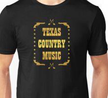 Golden Texas Country Music Unisex T-Shirt
