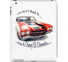Birthday products for a 70 yr. old; Chevrolet iPad Case/Skin