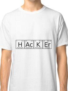 Hacker chemical formula Classic T-Shirt