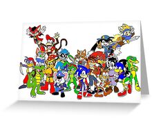 Game Critters Greeting Card