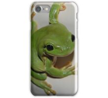 Green Tree Frog iPhone Case/Skin