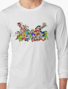 Game Critters Long Sleeve T-Shirt