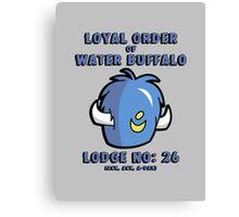 Loyal Order of Water Buffalo Canvas Print