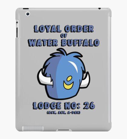 Loyal Order of Water Buffalo iPad Case/Skin