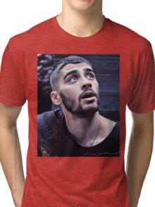 ZAYN MALIK - BOOK  Tri-blend T-Shirt