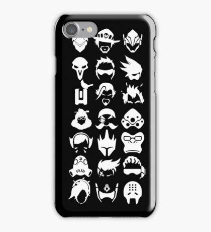 Heros - Black iPhone Case/Skin