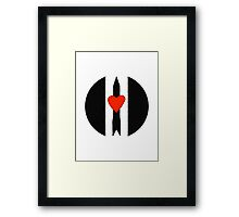 Love and Rockets Framed Print