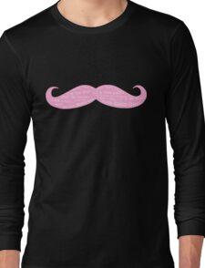 Markiplier Quotes on a Warfstache Long Sleeve T-Shirt