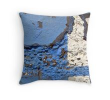 Blue Asphalt 12A Throw Pillow