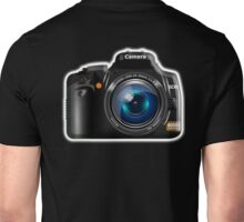 Camera, DSLR, Photography Unisex T-Shirt