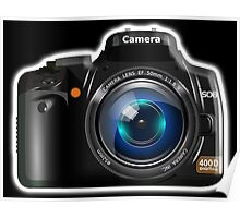 Camera, DSLR, Photography Poster