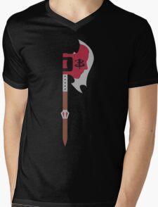 Buffy in the Scythe Mens V-Neck T-Shirt
